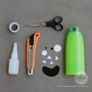 Porta lápis material