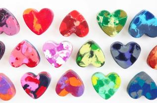 Coração de giz