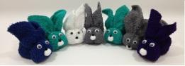 Coelhinhos de toalha