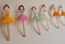 Bailarina de palito